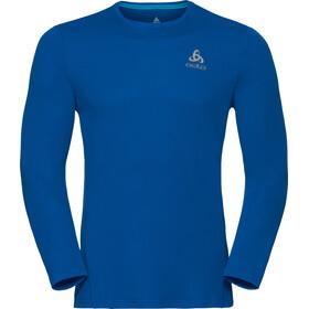 Odlo Sliq Koszulka do biegania z długim rękawem Mężczyźni niebieski